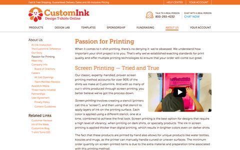 CustomInk - About Us