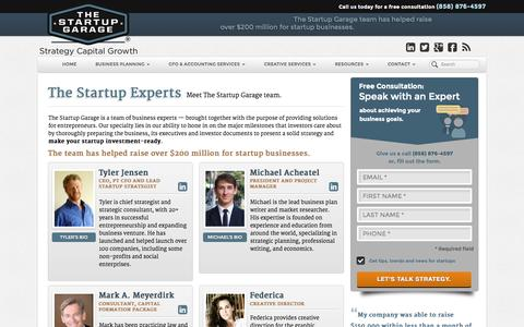 About the Startup Experts Team | The Startup Garage