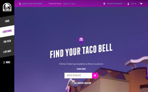 Locations - Taco Bell
