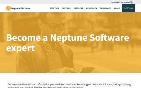 SAP App Strategy Resources | Neptune Software