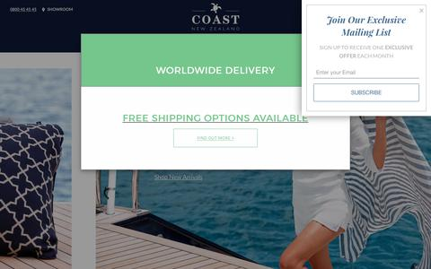 COAST New Zealand | Luxury Outdoor Beanbags | Canvas Luggage | Leather Goods