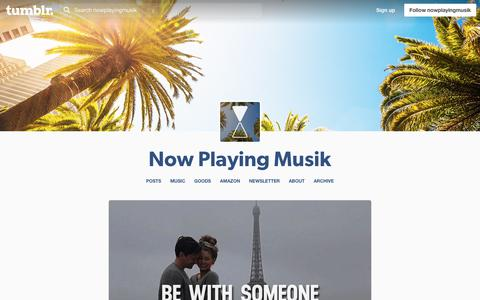 Screenshot of Hours Page nowplayingmusik.com - Now Playing Musik - captured June 15, 2017