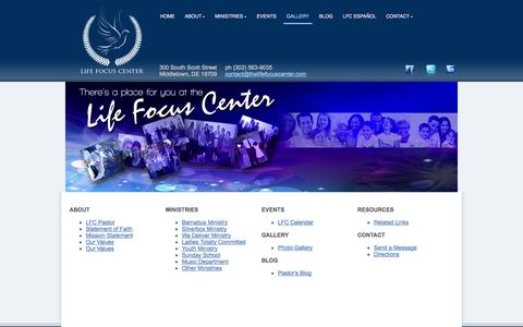 Screenshot of Site Map Page thelifefocuscenter.com - Site Map | The Life Focus Center - captured Oct. 8, 2014