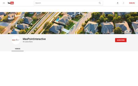 MaxPointInteractive - YouTube