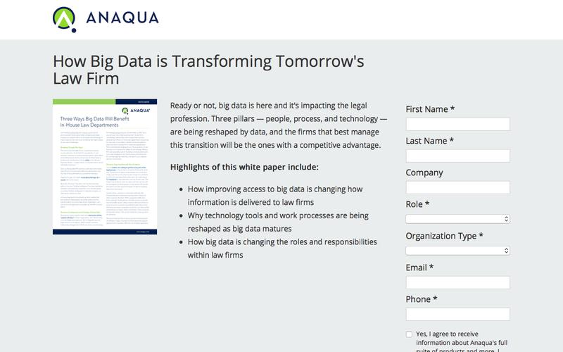 How Big Data is Transforming Tomorrow's Law Firm