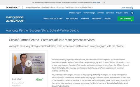 Screenshot of Case Studies Page avangate.com - Schaaf-PartnerCentric - Premium affiliate management services - captured April 13, 2018