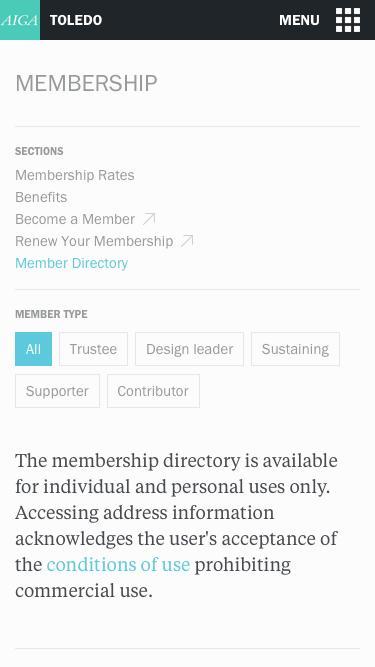 Member Directory | AIGA Toledo