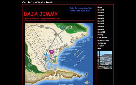 Screenshot of Maps & Directions Page bajajimmy.com - Cabo San Lucas Vacation Rentals , Cabo San Lucas - captured Sept. 30, 2014