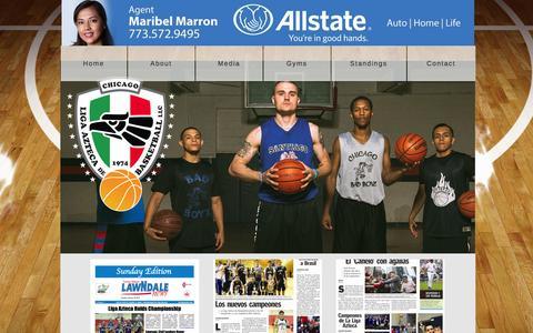 Screenshot of Press Page ligazteca.com - Press - captured Jan. 29, 2016