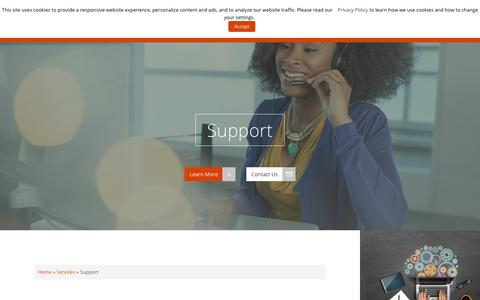 Screenshot of Support Page iii.com - Support - Innovative Interfaces, Inc. - captured Sept. 22, 2018