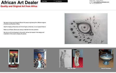 African Art Dealer