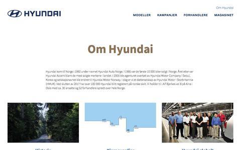 Om Hyundai | Hyundai Norway