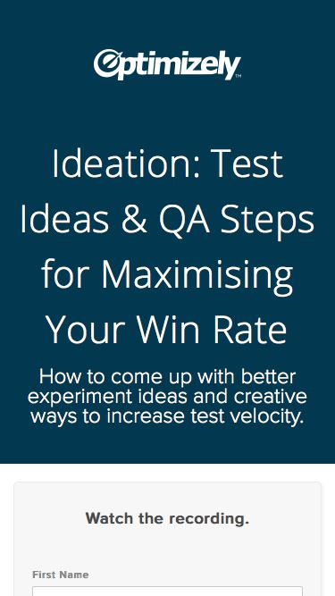 Ideation: Test Ideas & QA Steps for Maximising Your Win Rate
