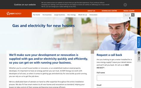Screenshot of Developers Page edfenergy.com - Business tariffs for property developers and managers | EDF Energy - captured Oct. 1, 2018