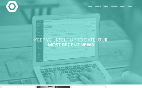 Screenshot of Press Page cecommerce.com - CE Commerce     News - captured Dec. 7, 2015