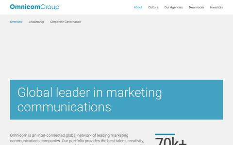 Global Leader in Marketing Communications | Omnicom Group