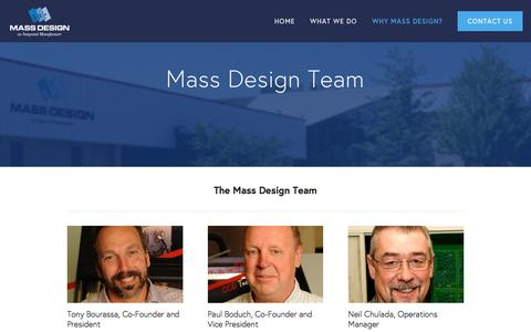 Screenshot of Team Page massdesign.com - Team — Mass Design - captured Nov. 27, 2016