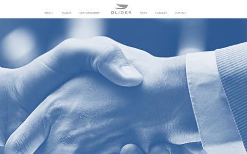 Screenshot of Jobs Page glideryachts.com - Careers |  Glider Yachts - captured Nov. 7, 2016