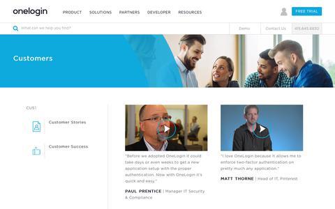 OneLogin Customers: Reviews, Testimonials & Success Stories