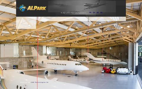 Screenshot of Home Page alpark.ch - - Alpark - captured Oct. 4, 2014