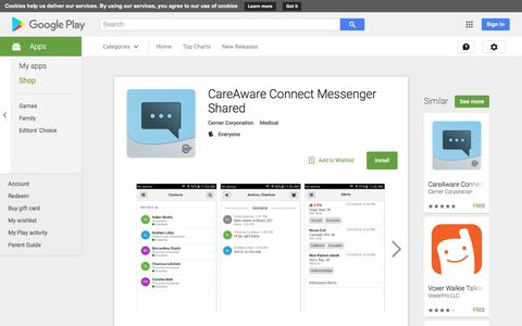 CareAware Connect Messenger Shared - Android Apps on Google Play