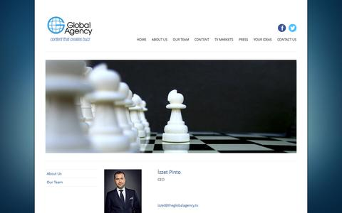 Screenshot of Team Page theglobalagency.tv - GLOBAL AGENCY [Formats, Series, Films] - captured Oct. 2, 2014