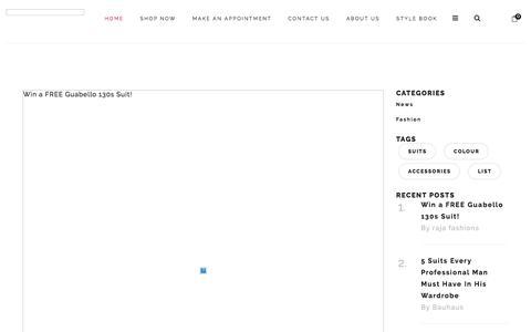 Screenshot of Blog raja-fashions.com - Blog - captured Sept. 20, 2018