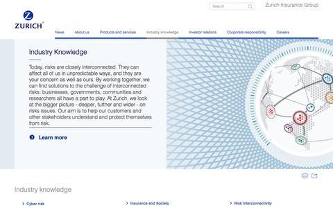 Industry Knowledge | Zurich Insurance