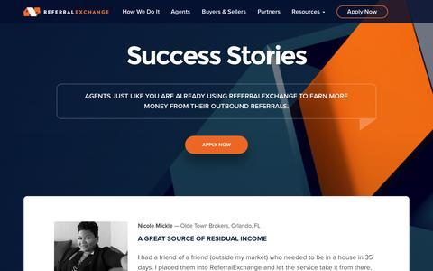 Success Stories | Agent Reviews