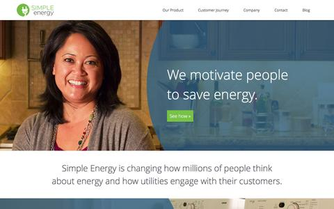 Simple Energy | We motivate people to save energy.