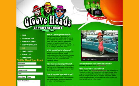 Screenshot of FAQ Page grooveheads.com - Learning Products - captured Oct. 3, 2014