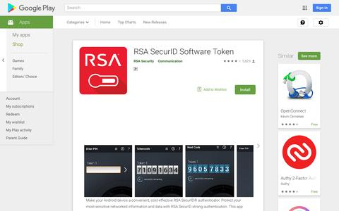RSA SecurID Software Token - Apps on Google Play
