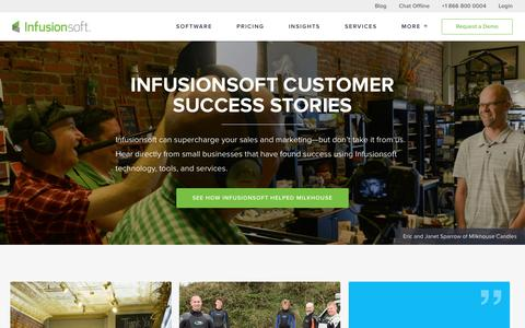 Small Business Success Stories | Infusionsoft