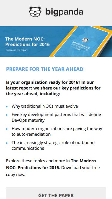 The Modern NOC: Prediction for 2016 - Download the report!