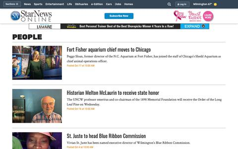 Screenshot of Team Page starnewsonline.com - People - Wilmington Star News - Wilmington, NC - Page 2 - captured Oct. 18, 2018