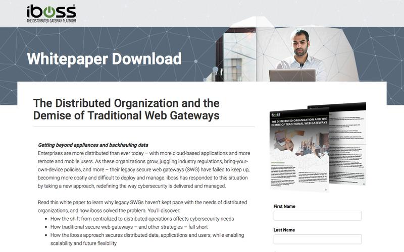 Distributed Gateway Platform Whitepaper