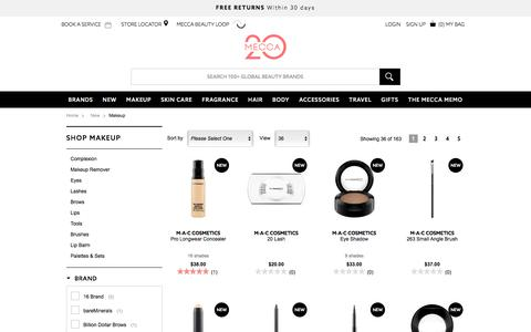 Shop What's New - Makeup | MECCA