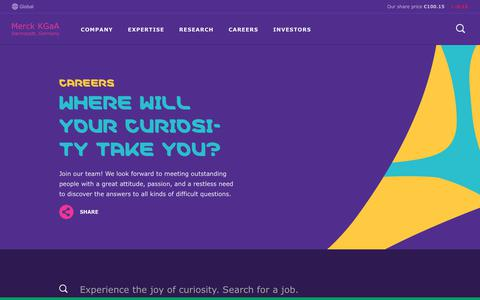 Screenshot of Jobs Page emdgroup.com - Careers Section | EMD Group - captured March 20, 2019
