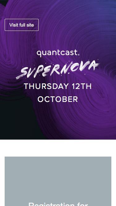 Quantcast | Supernova 2017