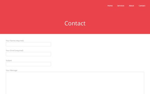 Screenshot of Contact Page simple.net.au - Contact - Simple - captured May 23, 2018