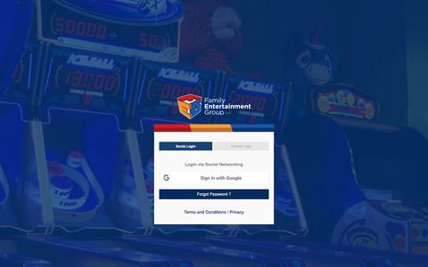 Screenshot of Login Page fegllc.com - FEG LLC - captured Oct. 10, 2018
