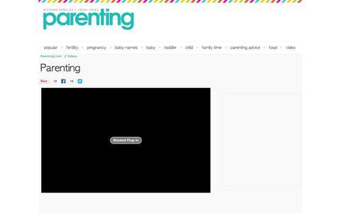 Parenting.com Video Index