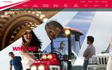 Old Screenshot Mahindra Experience About Page