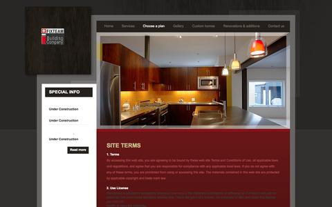 Screenshot of Privacy Page fixteam.ca - Privacy Policy | FixTeam | GTA Architectural Builder - captured Sept. 30, 2014