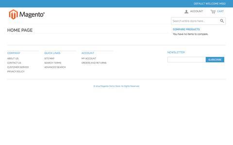 Screenshot of Blog blinkbazaar.com - Home page - captured Oct. 23, 2014