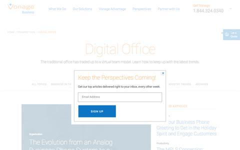 Digital Office | Vonage Business