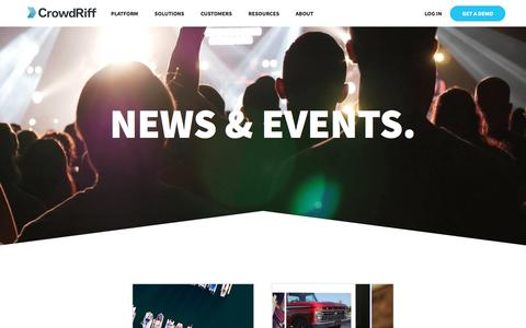 News & Events - CrowdRiff