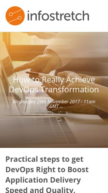 How to Really Achieve DevOps Transformation Webinar