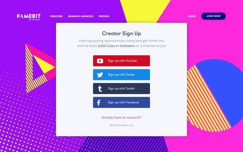 FameBit || Marketplace