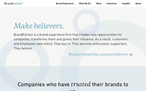 BrandExtract - Branding & Brand Strategy Consulting